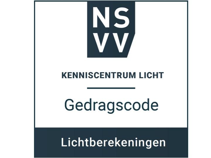 Gedragscode Lichtberekeningen certificaat