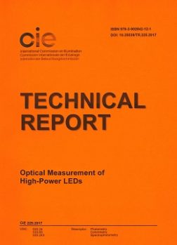 CIE 225:2017  Optical Measurement of High-Power Leds