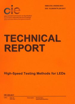 CIE 226:2017 High-Speed Testing Methods for Leds
