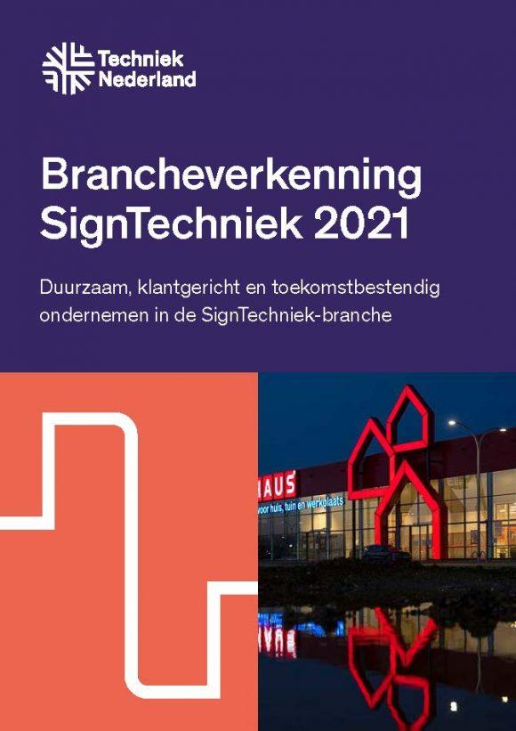 VB Rapport Brancheverkenning Signtechniek