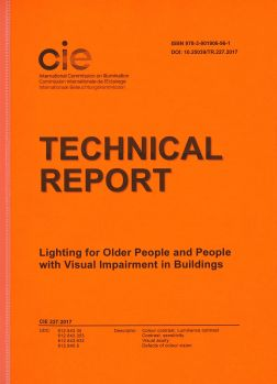 CIE 227:2017 Lighting for Older People and People with Visual Impairment in Buildings